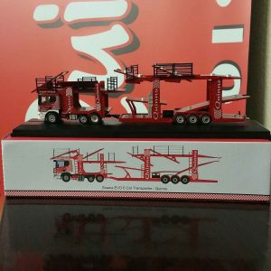 Auto transport vehicle carrier diecast toy model