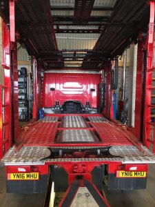Vehicle transport services new transporter truck