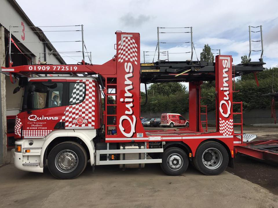 Car Transport Companies >> Car Transporter New To The Fleet Quinns Car Transport